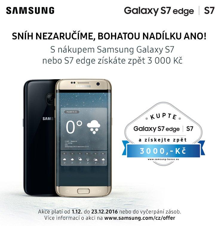 Samsung Galaxy S7   S7 edge cashback 3 000 Kč  e07d18cfd1