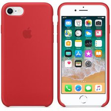 Kryt Apple (MQGP2ZM/A) Silikonový (PRODUCT)RED, iPhone 8, iPhone 7