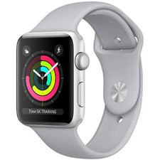 Chytré hodinky Apple Watch Series 3 42mm (MQL02CN/A) Silver Aluminium Case with Fog Sport Band
