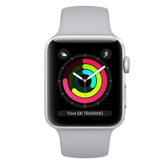 Chytré hodinky Apple Watch Series 3 38mm (MTEY2CN/A)  with White