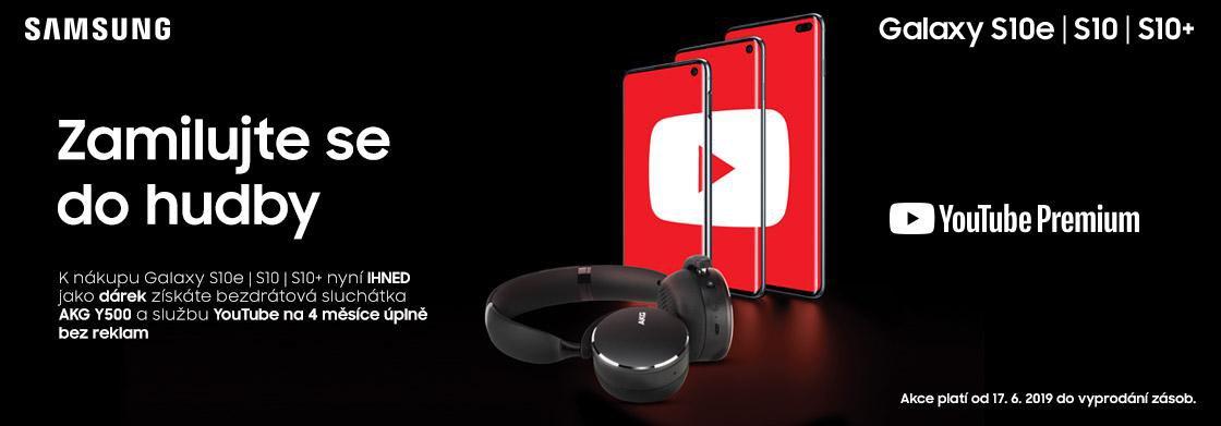 754c9b708 Kupte si Samsung Galaxy S10 a získejte sluchátka AKG v hodnotě 3 999 Kč a  Youtube Premium zdarma   MP.CZ