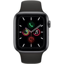 Chytré hodinky Apple Watch Series 5 44mm (MWVF2HC/A) Space Grey Aluminium Case with Black Sport Band