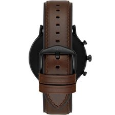 Chytré hodinky Fossil Carlyle HR Gen5 Leather Dark Brown